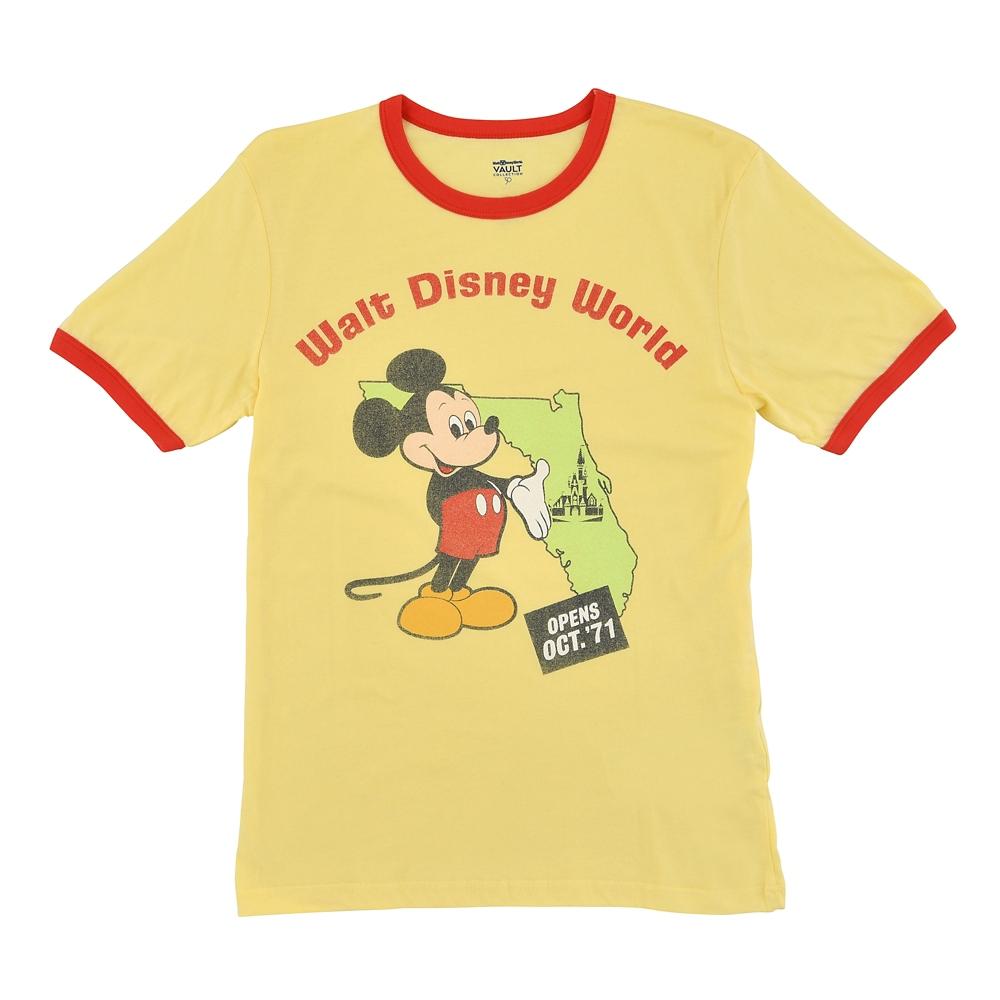 ミッキー 半袖Tシャツ フロリダ WALT DISNEY World 50TH VAULT
