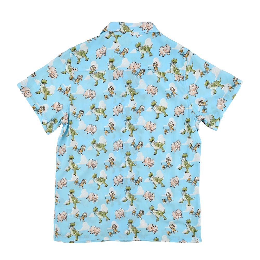 ハム、レックス、スリンキー 半袖シャツ・アロハシャツ Pixar's Summer Resort