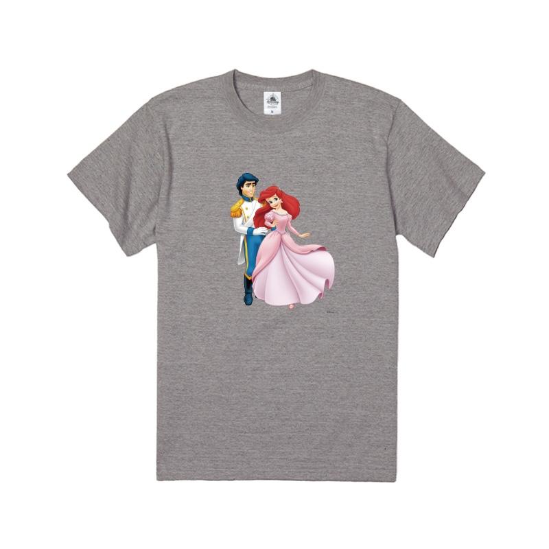 【D-Made】Tシャツ リトル・マーメイド エリック王子&アリエル ピンクドレス
