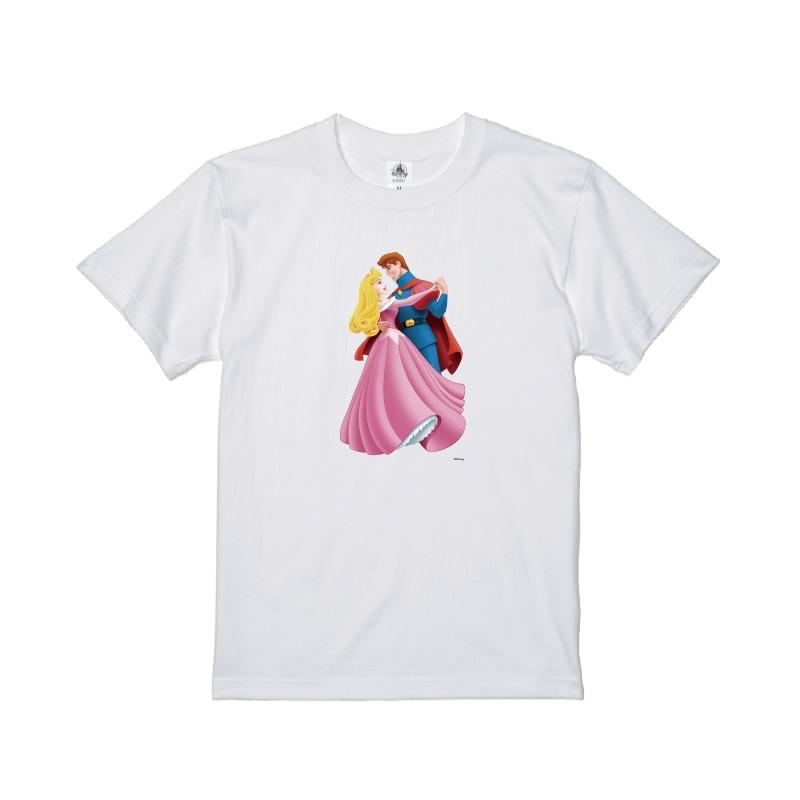 【D-Made】Tシャツ 眠れる森の美女 フィリップ王子&オーロラ姫