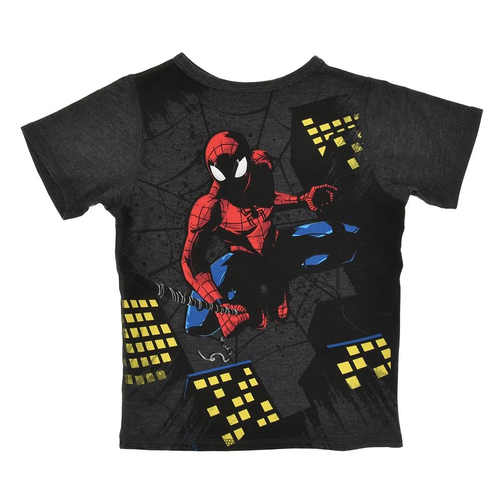 マーベル スパイダーマン キッズ用半袖Tシャツ ナイト
