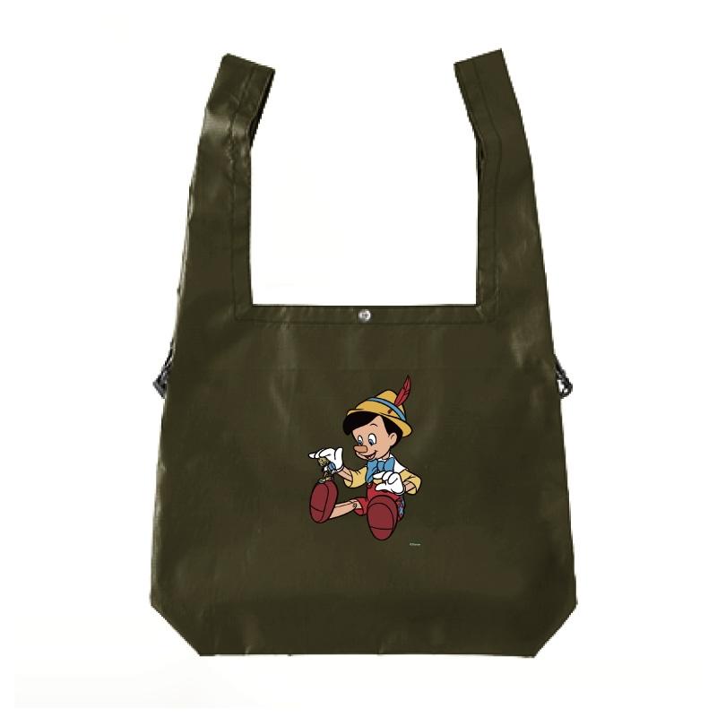 【D-Made】エコバッグ ピノキオ ピノキオ&ジミニー・クリケット