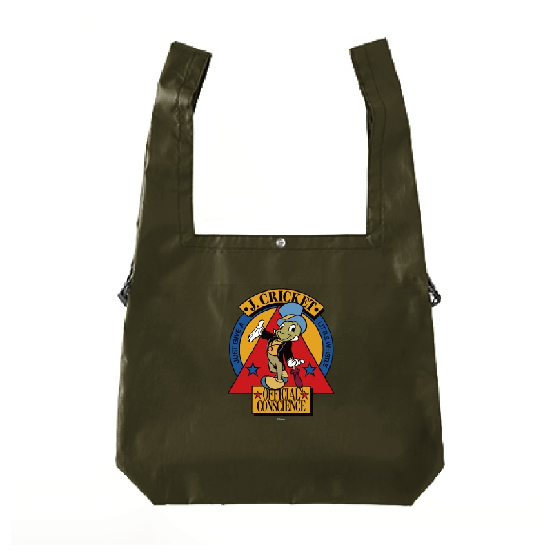 【D-Made】エコバッグ ピノキオ ジミニー・クリケット 公認の良心