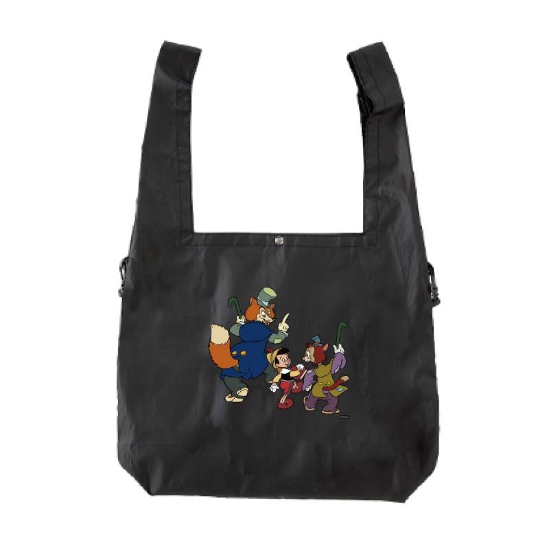 【D-Made】エコバッグ ピノキオ ピノキオ&正直ジョン&ギデオン