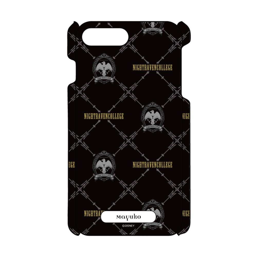 【D-Made】名入れ iPhoneケース 『ディズニー ツイステッドワンダーランド』 ナイトレイブンカレッジ 総柄2