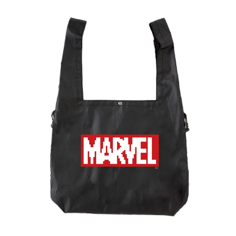 【D-Made】エコバッグ MARVEL ロゴ