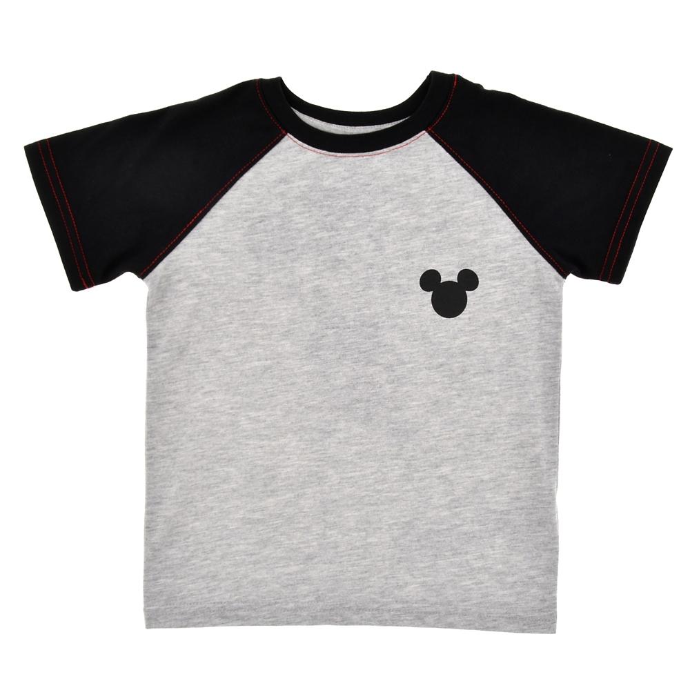 ミッキー キッズ用半袖Tシャツ ラグラン クラシックスタンダード