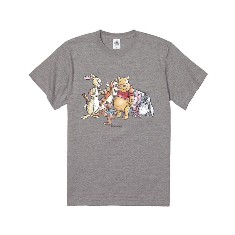 【D-Made】Tシャツ くまのプーさん 集合 フレンズ