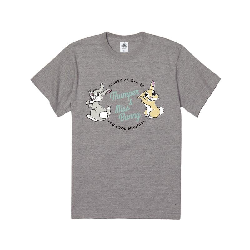 【D-Made】Tシャツ バンビ とんすけ&ミス・バニー フレンズ