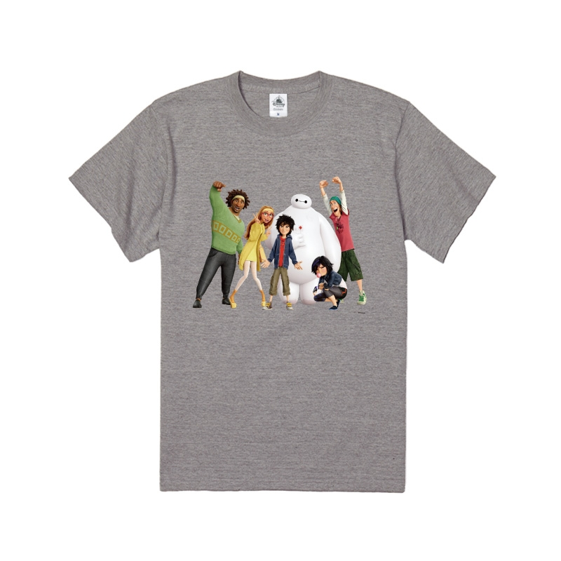 【D-Made】Tシャツ ベイマックス 集合 フレンズ