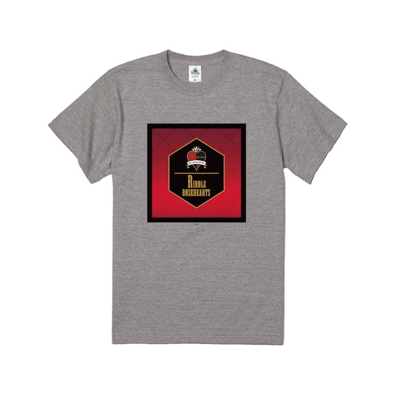【D-Made】Tシャツ 『ディズニー ツイステッドワンダーランド』 リドル・ローズハート 寮章
