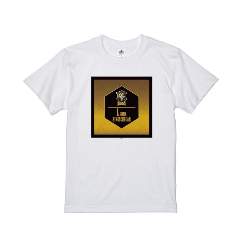 【D-Made】Tシャツ 『ディズニー ツイステッドワンダーランド』 レオナ・キングスカラー 寮章