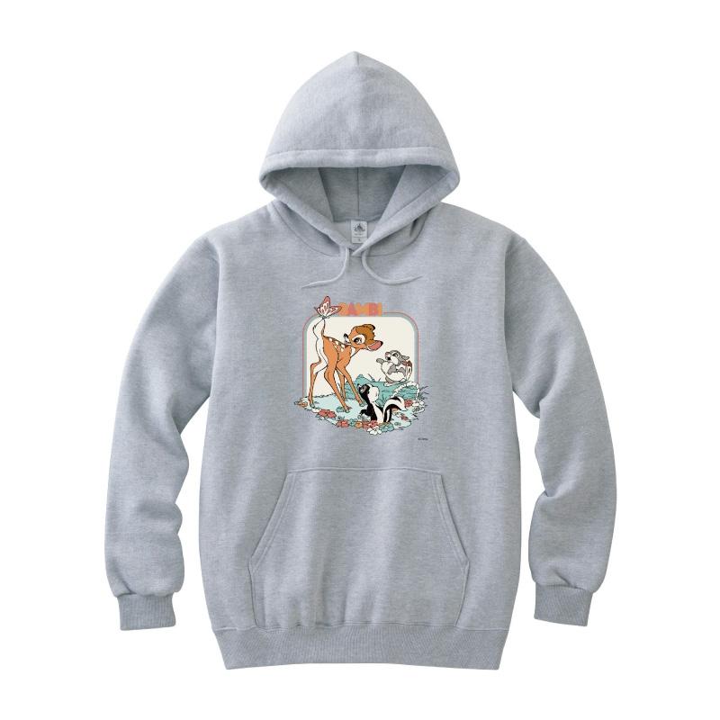 【D-Made】パーカー バンビ バンビ&とんすけ&フラワー フレンズ
