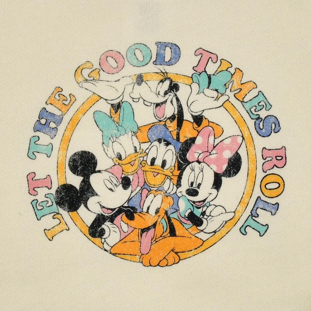 ミッキー&フレンズ キッズ用トレーナー Let The Good Times Roll