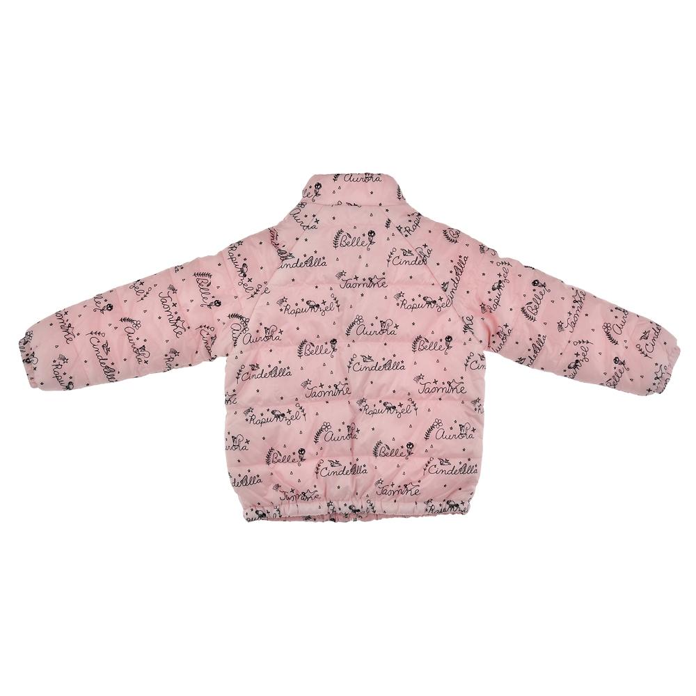 ディズニープリンセス キッズ用ジャケット 中綿 ネームロゴ