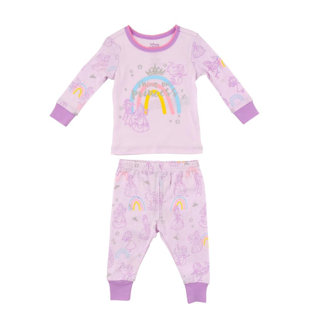 ディズニープリンセス ベビー用長袖パジャマ Cute Disney Baby