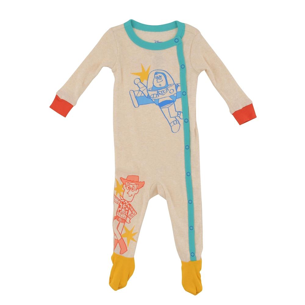 ウッディ&バズ・ライトイヤー ロンパース デフォルメ Disney baby