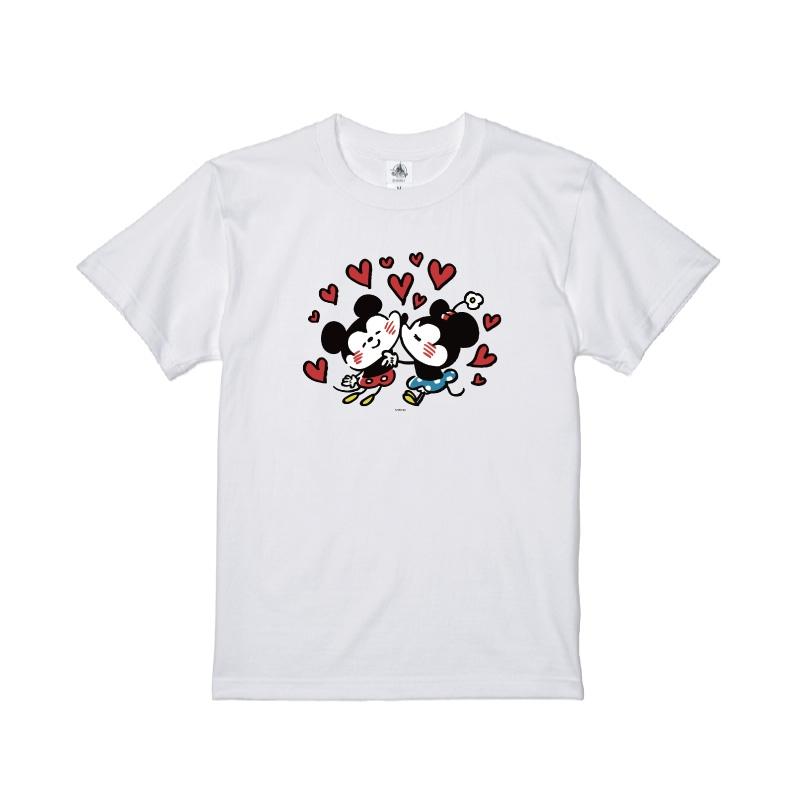 【D-Made】Tシャツ カナヘイ画♪ミッキー&フレンズ ミッキー&ミニー