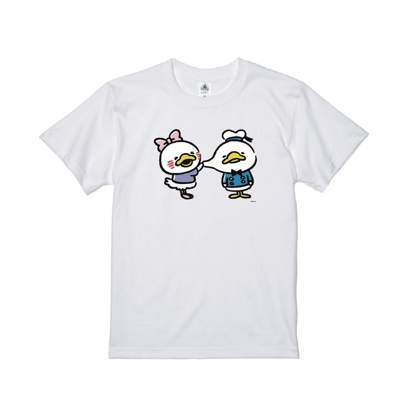 【D-Made】Tシャツ うごく!カナヘイ画♪ミッキー&フレンズ ドナルド&デイジー