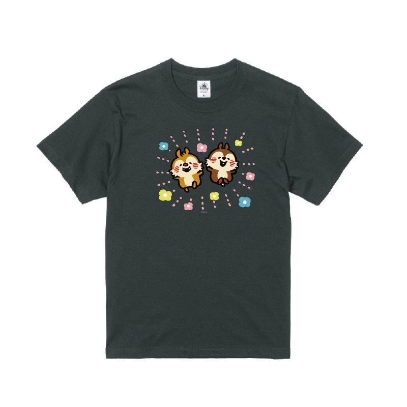 【D-Made】Tシャツ うごく!カナヘイ画♪ミッキー&フレンズ チップ&デール