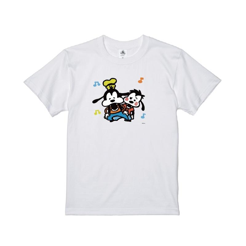 【D-Made】Tシャツ うごく!カナヘイ画♪ミッキー&フレンズ グーフィー&マックス