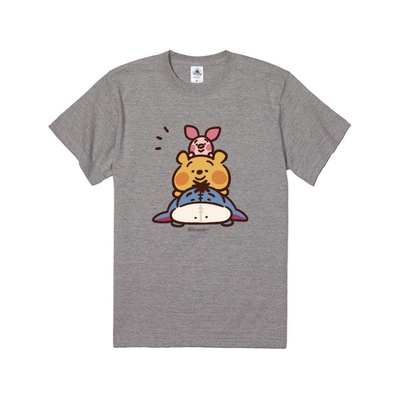 【D-Made】Tシャツ カナヘイ画♪くまのプーさん プー&ピグレット&イーヨー