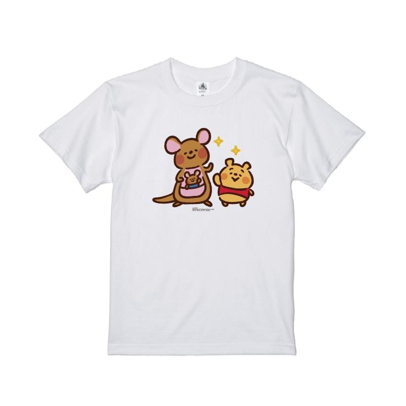 【D-Made】Tシャツ カナヘイ画♪くまのプーさん プー&カンガ&ルー