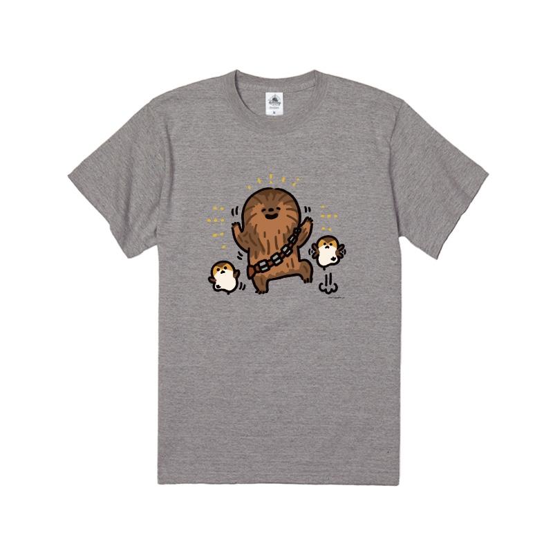 【D-Made】Tシャツ カナヘイ画♪スター・ウォーズ チューバッカ / チューイ