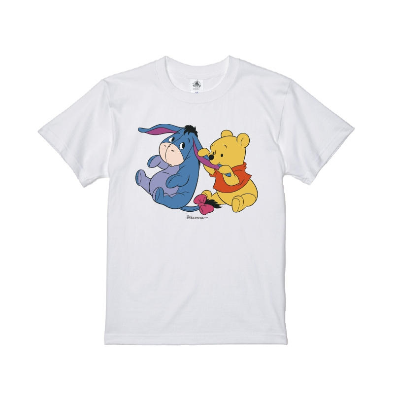 【D-Made】Tシャツ くまのプーさん プー&イーヨーベビー