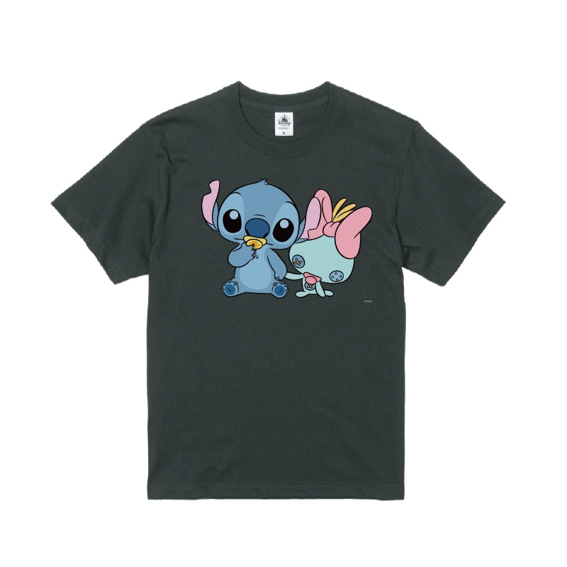 【D-Made】Tシャツ リロ&スティッチ スティッチ&スクランプ ベビー