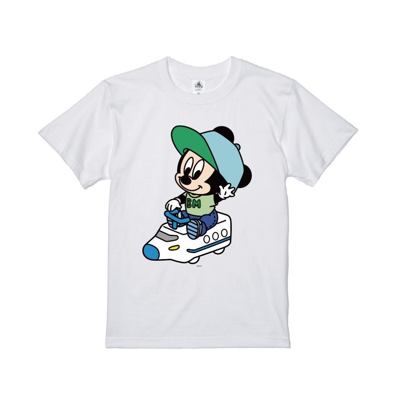 【D-Made】Tシャツ ミッキー ベイビー 電車ごっこ