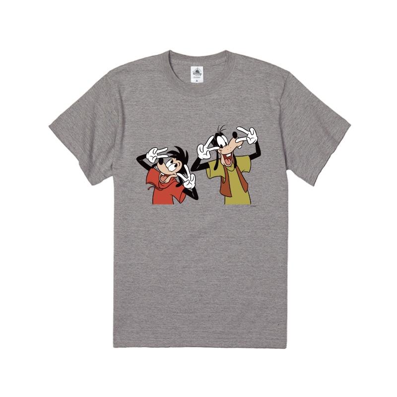【D-Made】Tシャツ グーフィー&マックス ダンスポーズ  We love Goofy