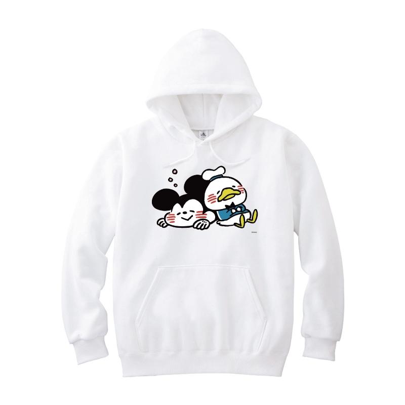 【D-Made】パーカー カナヘイ画♪ミッキー&フレンズ ミッキー&ドナルド