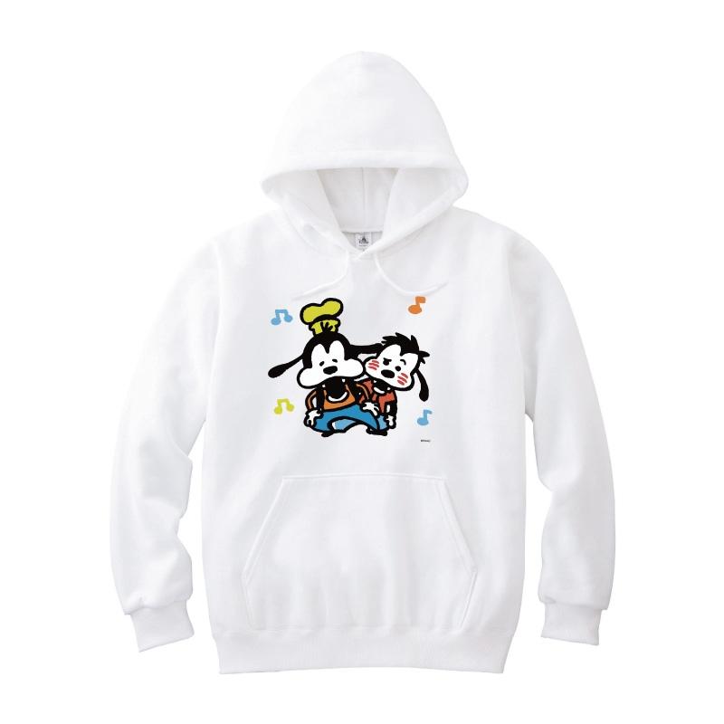 【D-Made】パーカー うごく!カナヘイ画♪ミッキー&フレンズ グーフィー&マックス