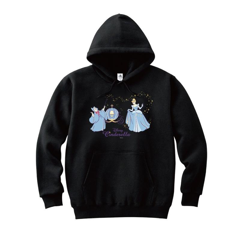 【D-Made】パーカー シンデレラ シンデレラ&妖精 ビビディ・バビディ・ブー