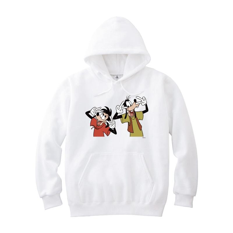 【D-Made】パーカー グーフィー&マックス ダンスポーズ  We love Goofy