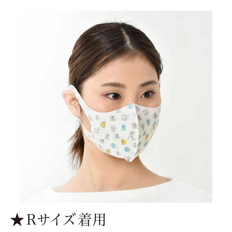 【D-Made】マスク 総柄 ミス・バニー&とんすけ