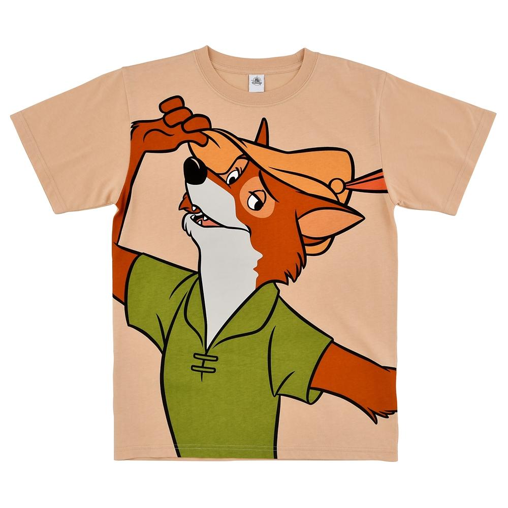 ロビン・フッド 半袖Tシャツ The Fox and the Hound 40th