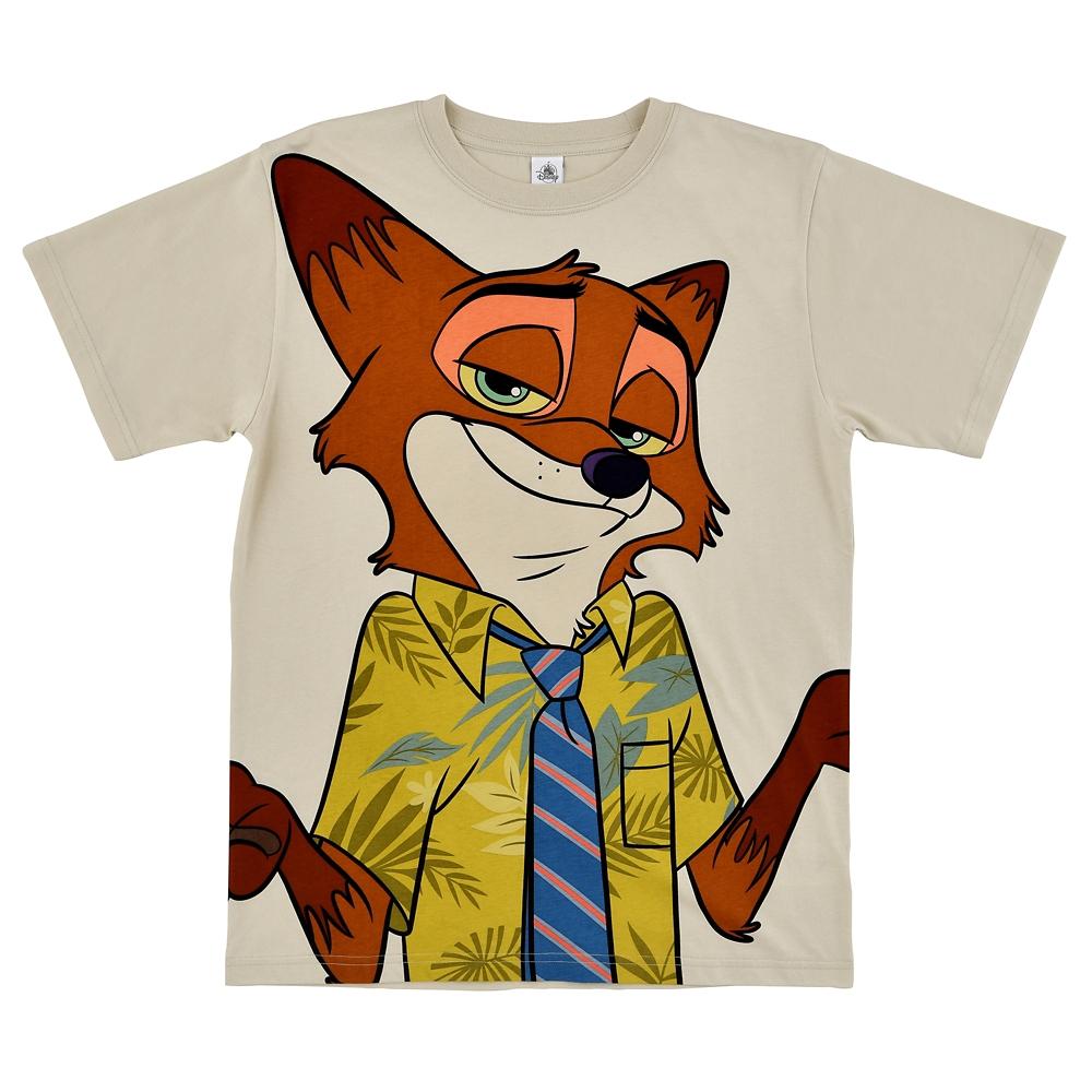 ニック・ワイルド 半袖Tシャツ The Fox and the Hound 40th