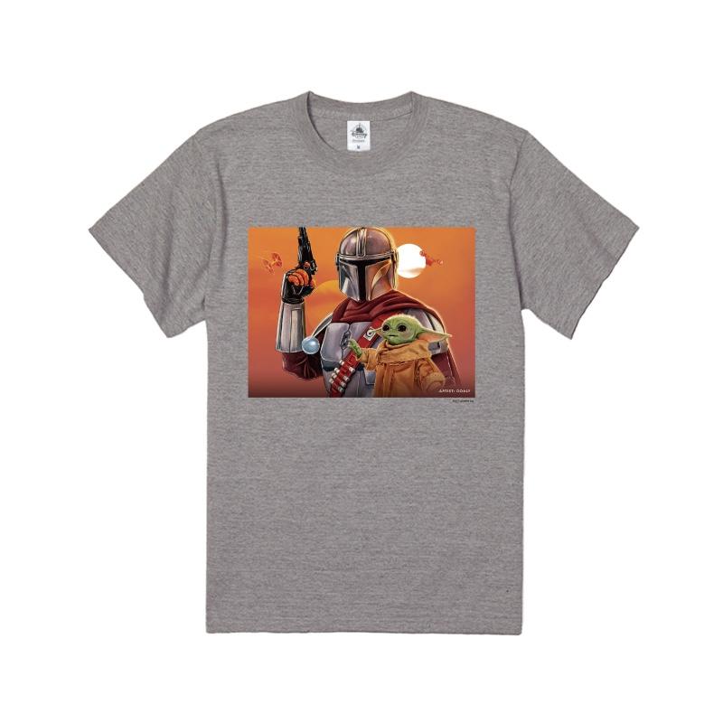 【D-Made】Tシャツ マンダロリアン アーティストアート