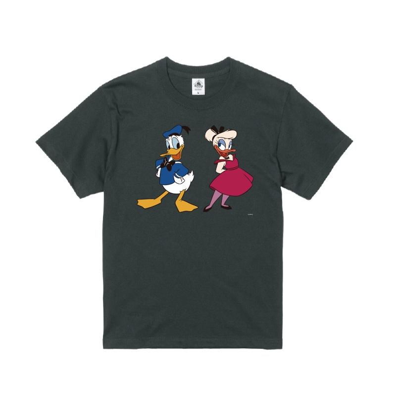 【D-Made】Tシャツ ドナルド&デイジー レトロ