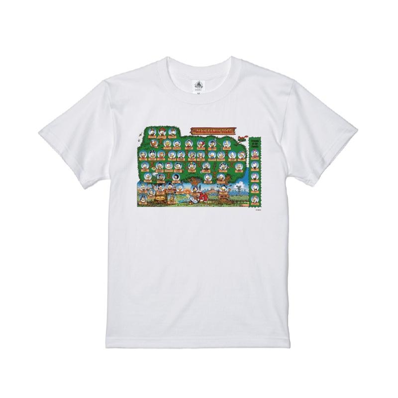 【D-Made】Tシャツ ダックファミリーツリー THE DUCKFAMILY