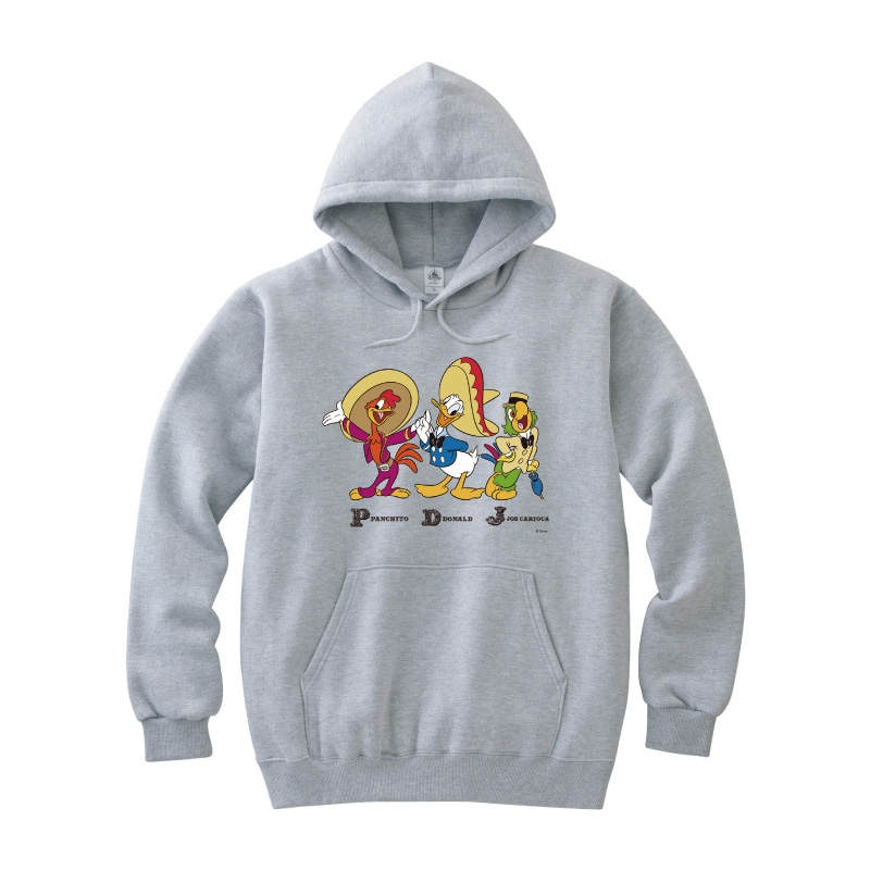 【D-Made】パーカー 三人の騎士 集合 Donald Duck Birthday
