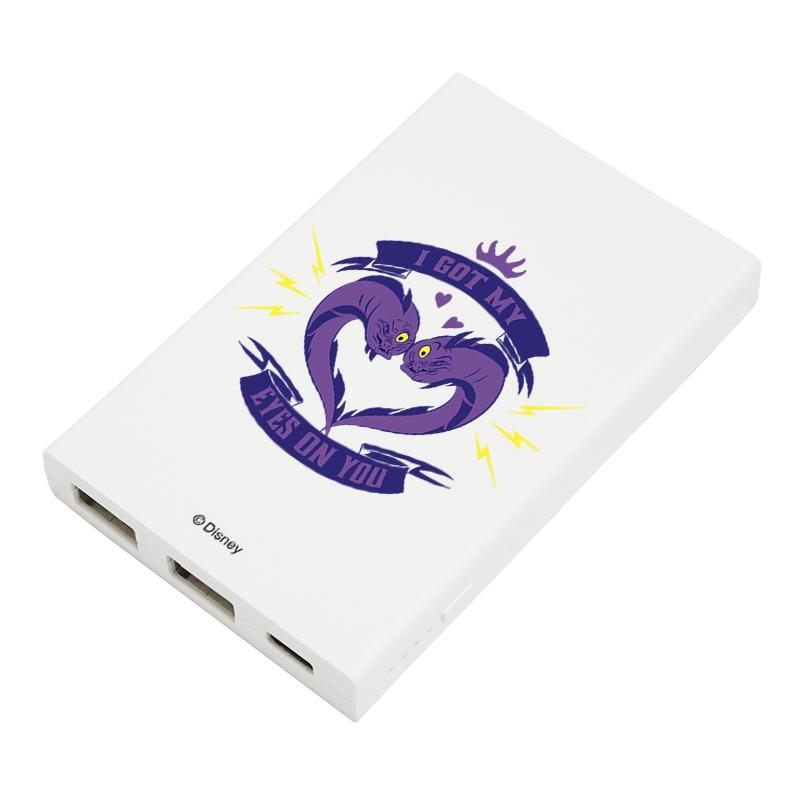 【D-Made】モバイルバッテリーチャージャー リトル・マーメイド フロットサム&ジェットサム