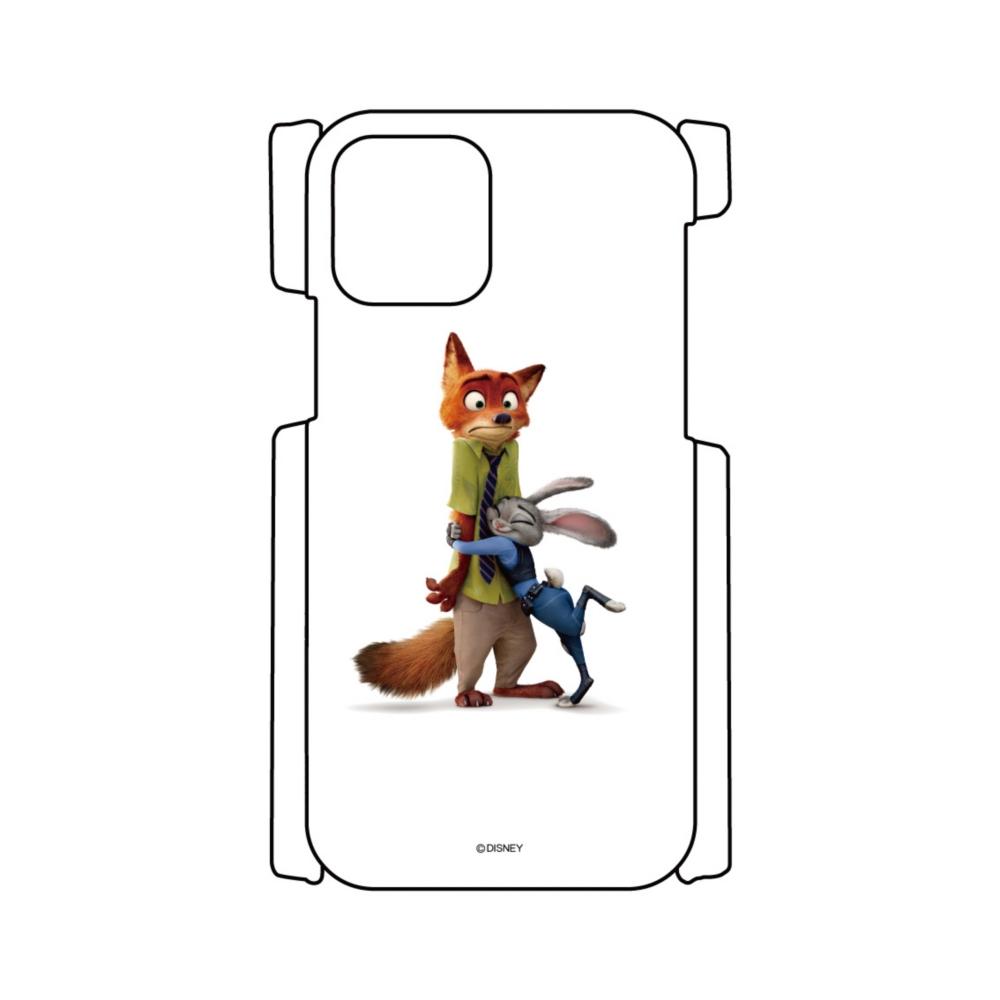 【D-Made】iPhoneケース ズートピア ジュディ・ホップス&ニック・ワイルド
