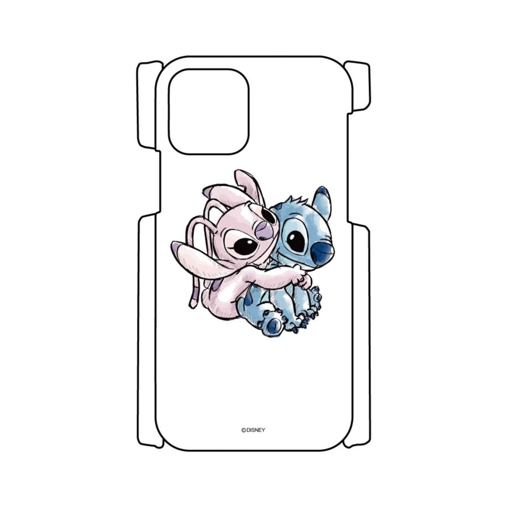 【D-Made】iPhoneケース スティッチ&エンジェル バックハグ