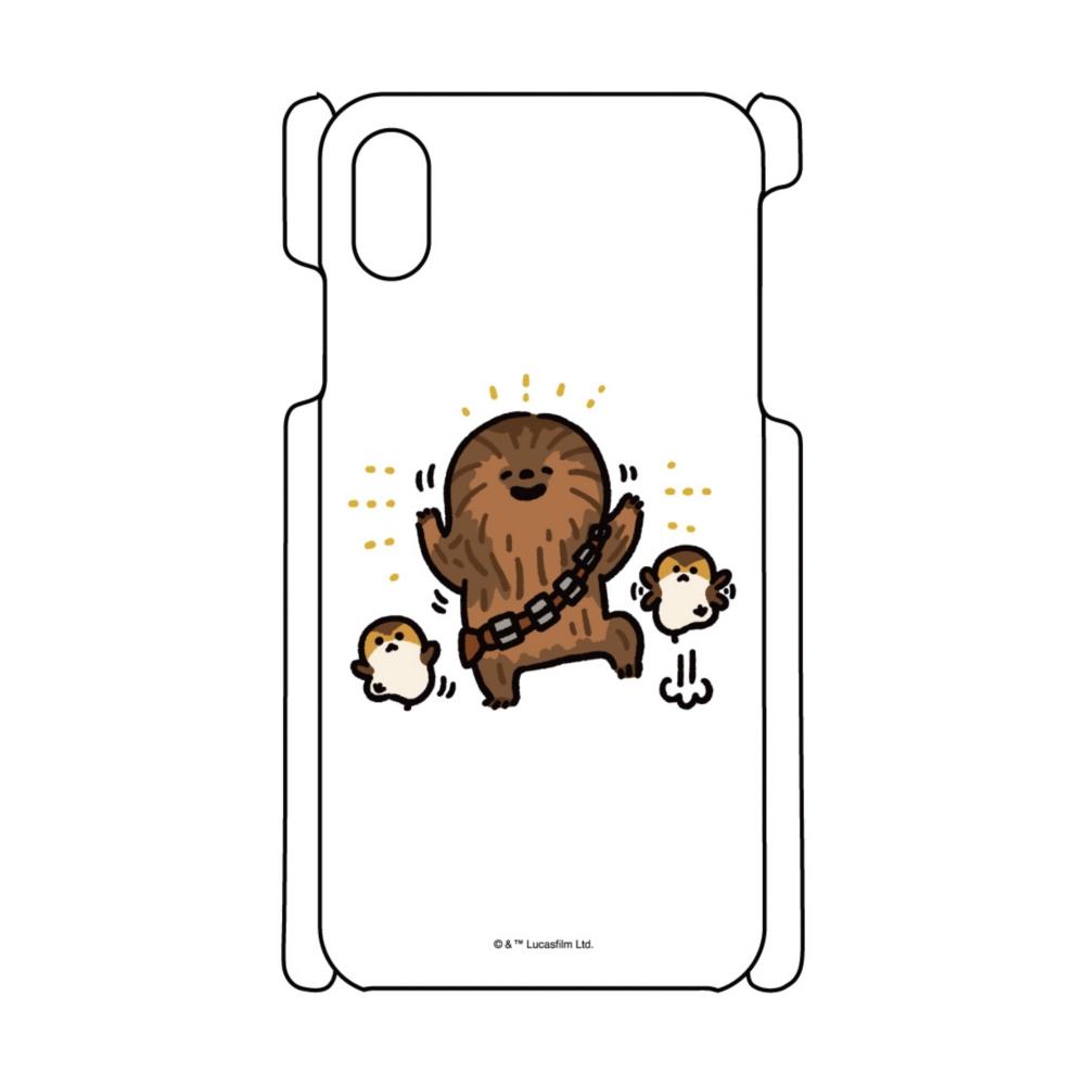 【D-Made】iPhoneケース カナヘイ画♪スター・ウォーズ チューバッカ / チューイ