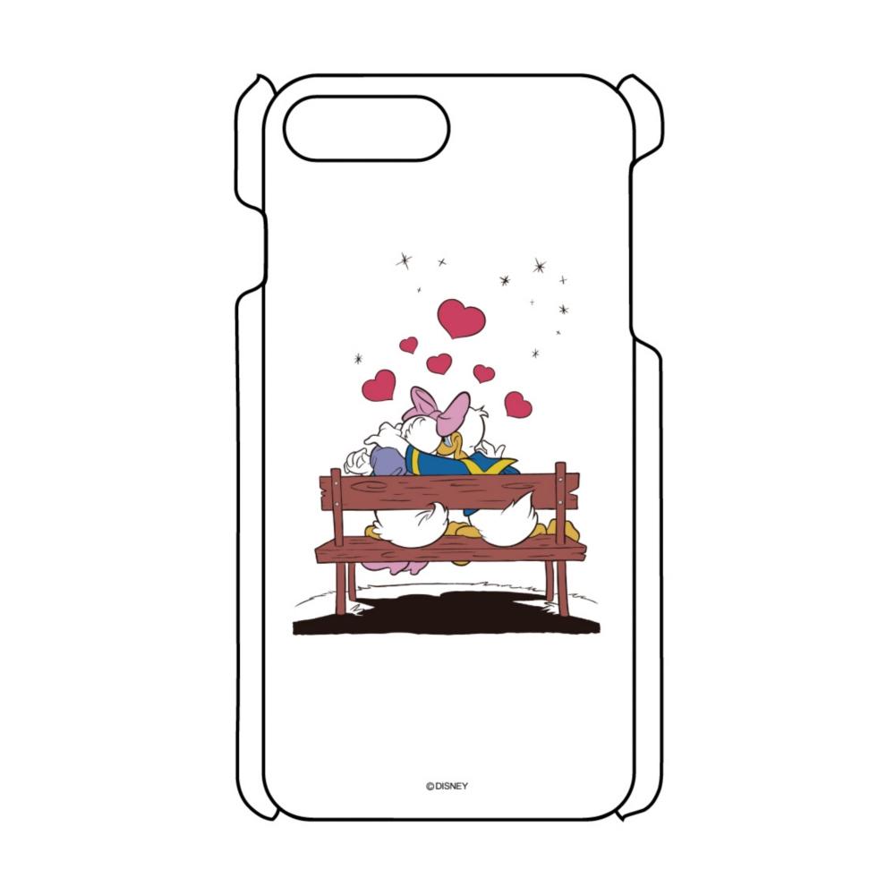 【D-Made】iPhoneケース ドナルド&デイジー Love
