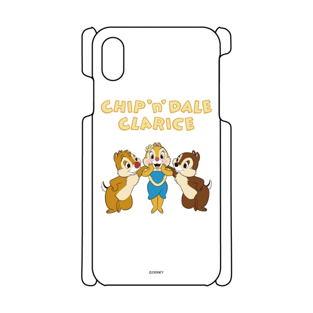 【D-Made】iPhoneケース チップ&デール&クラリス