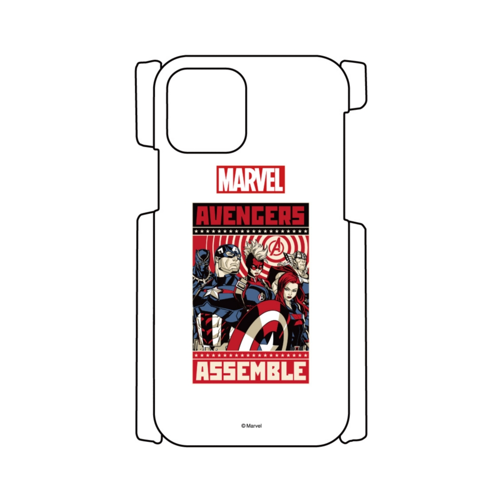 【D-Made】iPhoneケース MARVEL アベンジャーズ ASSEMBLE